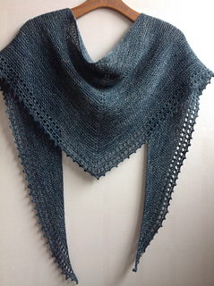 Free Knitting Patterns For Small Shawls : Ravelry: Simple Shawl pattern by Jane Hunter