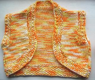Ravelry: Toddler Bolero Pattern pattern by Catherine Harrison