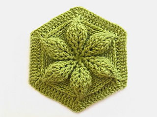 Ravelry Embossed Crochet Hexagon Pattern By Bonita Patterns