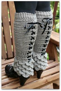 Ravelry Crocodile Stitch Legwarmers Pattern By Bonita Patterns