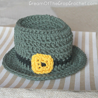 46ffa9ad568 Ravelry  Newborn Leprechaun Hat pattern by Cream Of The Crop ...