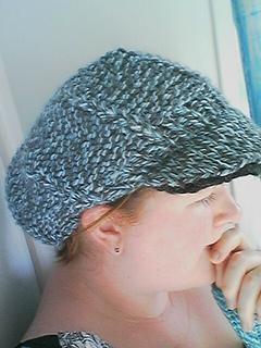 Ravelry  Knit Newsboy Hat pattern by Grace Alexander 6f31bfd1efc