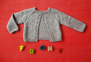 dff5cdbe0b5e Ravelry  Seed Stitch Toddler Cardigan pattern by Brought Up By Wolves