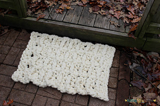 1a10206bf Ravelry: Chunky Yarn Outdoor Rug pattern by Stacey Williams