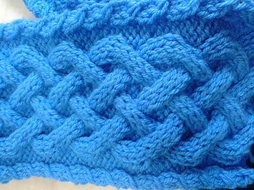 Ravelry Chunky Celtic Cable Cowl And Scarf Pattern By Katie Kennard