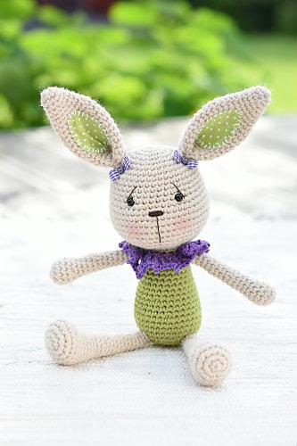 Ravelry Lace Collar Bunny Pattern By Mari Liis Lille