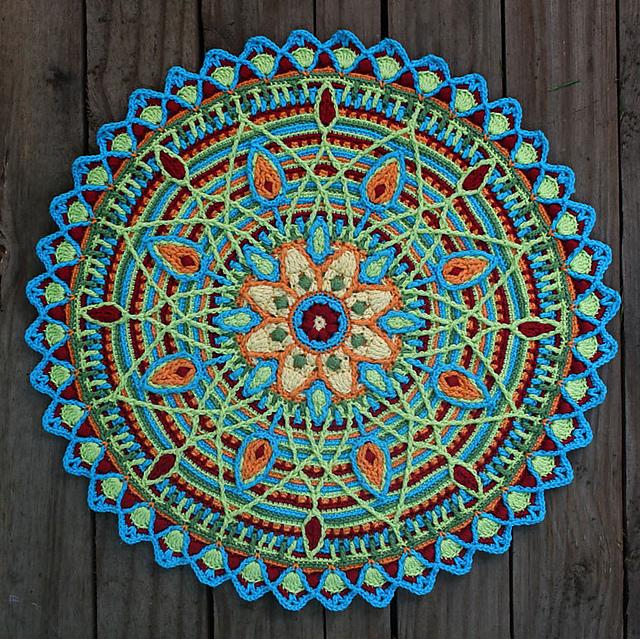Ravelry Overlay Mandala No 5 Pattern By Carocreated Design