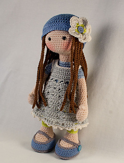 Ravelry doll lilly pattern by carocreated design carocreated dt1010fo