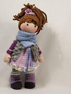 Ravelry Doll Mia Pattern By Carocreated Design