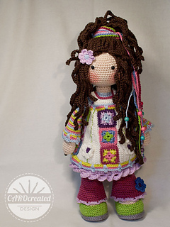 Ravelry Doll Yuna Pattern By Carocreated Design