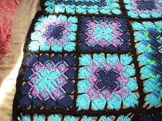 Ravelry Stained Glass Afghan In Bavarian Crochet Pattern By Cb Pelton