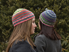 Easy Striped Hat PDF
