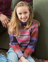 Take It Easy Child's Pullover PDF