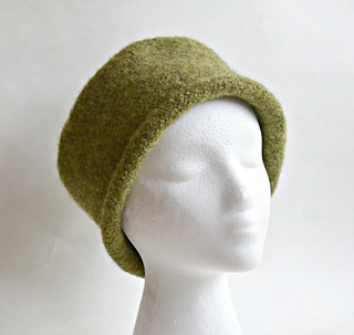 Ravelry  Easy Felted Hat pattern by Cindy Pilon d79d3ef9245c