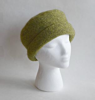 Ravelry  Cuffed Felted Hat pattern by Cindy Pilon f68dbf451ab3
