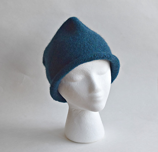 Ravelry  Pinched Felted Hat pattern by Cindy Pilon 7554462f6404
