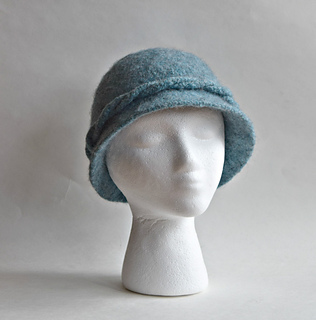 Ravelry  Bell Felted Hat pattern by Cindy Pilon ee77c28faa59