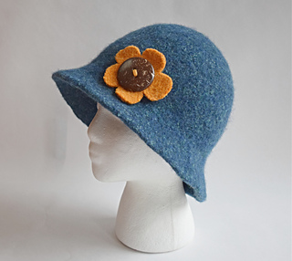 patterns   Cindy Pilon s Ravelry Store and 1 more...   Leda Felted Hat 85ef83b37f54