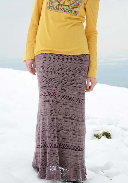 Ravelry: Textured maxi skirt pattern by conceptcreative.store
