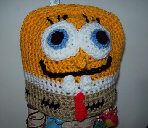 Ravelry Not Sponge Bob Square Pants Crochet Hat Pattern By Cathy Wood