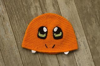 Ravelry  Fire Pokemon Charmander Hat pattern by Dream Boat Effects f7f20324b63
