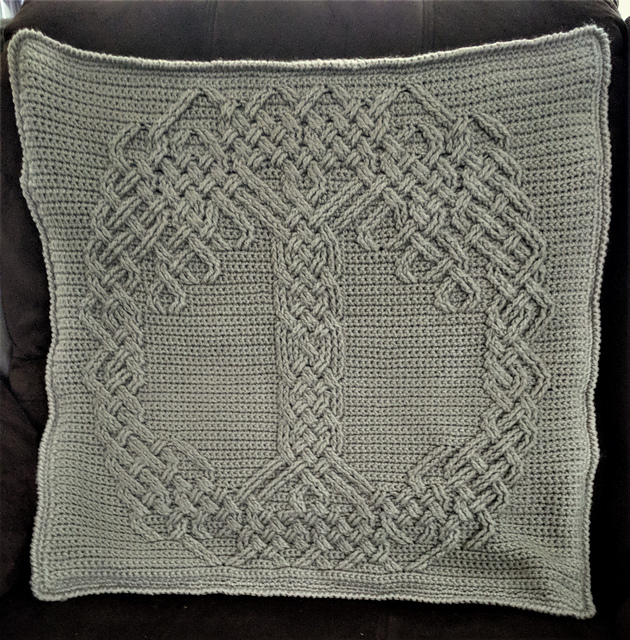 Yggdrasil Tree of Life Square pattern by Caia CrochetCreations