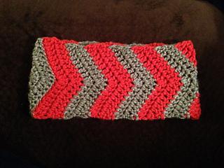 Chevron Ear Warmers Headband Crochet Pattern Pattern By Ravelry