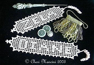 Ravelry Name Bookmark In Filet Crochet Pattern By Cheri Mancini