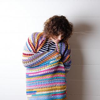 Scraptical Magic Blanket pattern by Crochet Coach