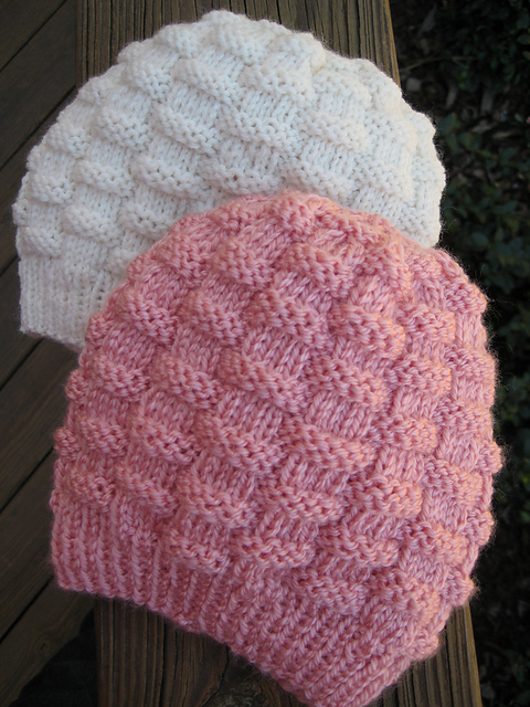 Ravelry Basket Weave Baby Hat Pattern By Carole Barenys