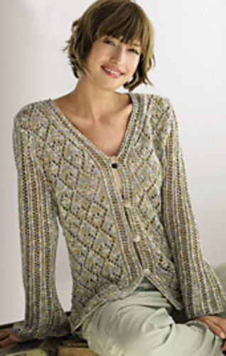 Ravelry 01 Cardigan Pattern By Lana Grossa