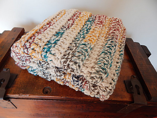 df07184840 Ravelry  Chunky Stroller Throw pattern by Peg Barrows