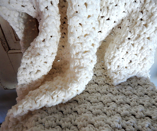 fa9139c4f9 Ravelry  Chunky Baby Blanket pattern by Peg Barrows