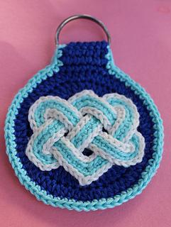 Ravelry Celtic Knot Key Fob Pattern By Jennifer E Ryan