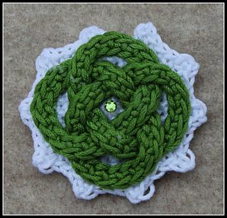 Ravelry Celtic Knot Pin Pattern By Jennifer E Ryan