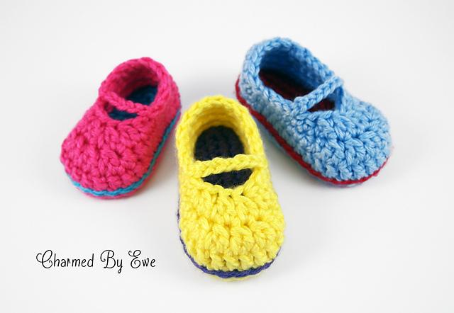 Ravelry Sweet Baby Mary Janes Pattern By Janaya Chouinard