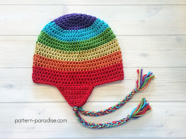 Ravelry: Easy Earflap Hat pattern by Maria Bittner