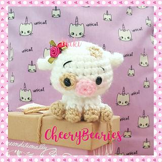 Pua Pig plush pattern by Miki H Kim