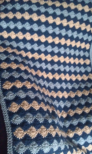 Ravelry Catherine Wheel Stitch Afghan Pattern By Shelly Of Missed