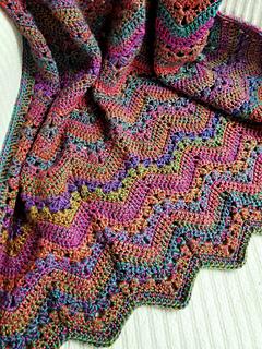 Ravelry 6 Day Kid Blanket Pattern By Betty Mcknit
