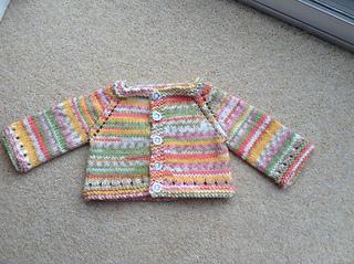 be2537dd6 Ravelry  Maxine Baby Cardigan Jacket pattern by marianna mel