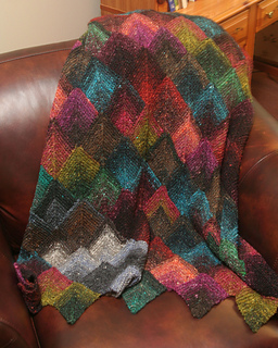Ravelry: Mitered Squares Afghan pattern by Chris de Longpré