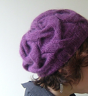 ad297537b99 Ravelry  16 Sixteen Cable Hat pattern by Circé Belles Boucles