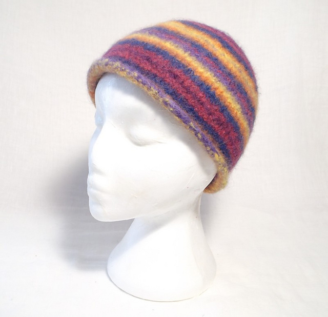 Ravelry: Felt Beanie Hat pattern by Claire Fairall Designs