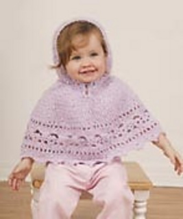 Ravelry Baby Poncho Pattern By Gayle Bunn