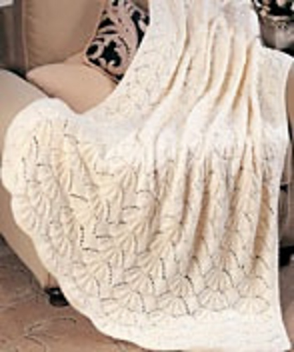 Ravelry Bear Claw Throw Pattern By Rita Weiss