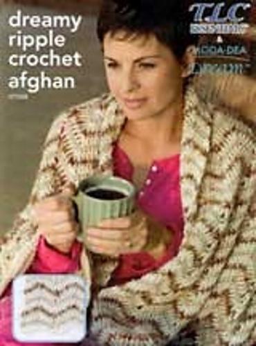 Ravelry: TLC Essentials LT1528, Dreamy Ripple Crochet Afghan - patterns