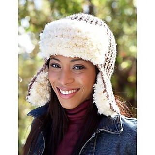 aa785a92ac9 Ravelry  Trapper Hat pattern by Patons