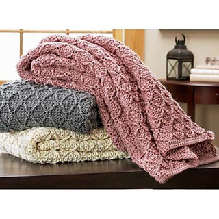 Ravelry Savannah Hand Crochet Afghan Pattern By Herrschners