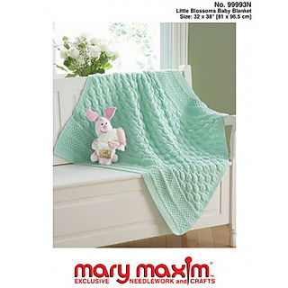 Ravelry: Mary Maxim #99993, Little Blossoms Baby Blanket - patterns